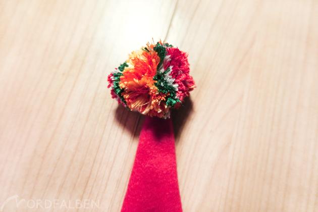 Bommel Weihnachtsmütze