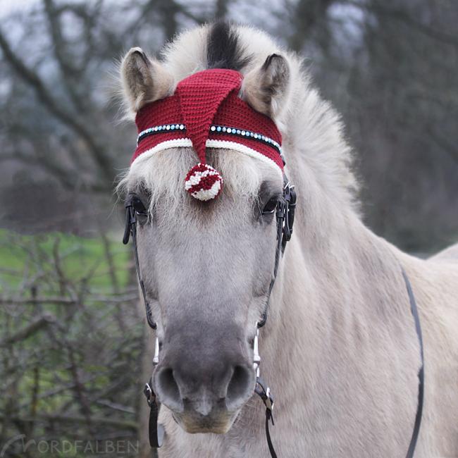 Weihnachtsmütze Pferd