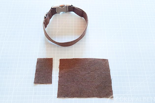 Schleife Halsband